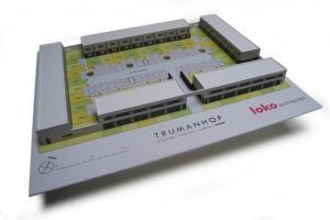 maquette trumanhof - loko architecten